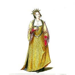 Woman_in_Medieval_Dress_or_Costume_(18)